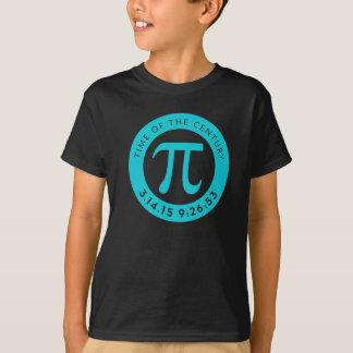 Aqua 2015 da camisa do dia do Pi para os miúdos