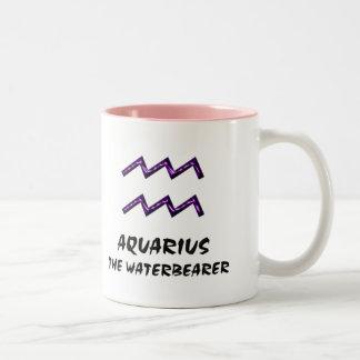 Aquário a caneca do waterbearer