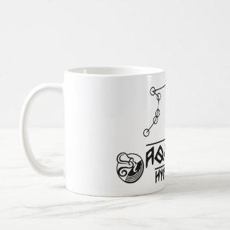 Aquário do zodíaco caneca de café