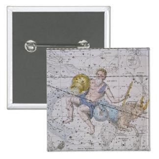 """Aquário e Capricórnio, """"de um atlas celestial"""", Boton"""