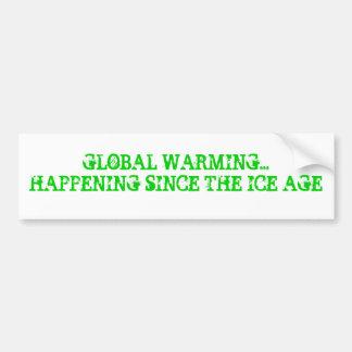 AQUECIMENTO GLOBAL… ADESIVO PARA CARRO