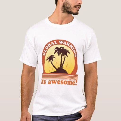 aquecimento global camiseta