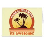 aquecimento global cartões