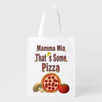 Aquela é alguma pizza sacola ecológica