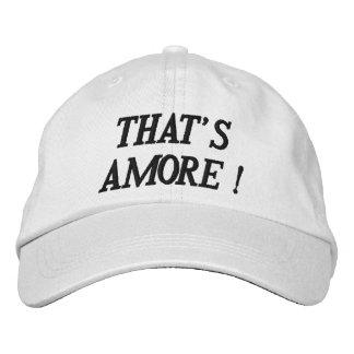 AQUELE É chapéu ajustável personalizado AMORE Bonés