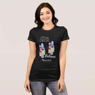 Àqueles que acreditam --- T-shirt Camiseta