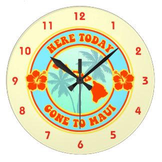 Aqui ido hoje a Maui Havaí Relógio Grande