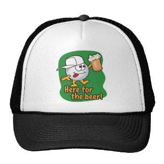 Aqui para o jogador de golfe dos desenhos animados boné