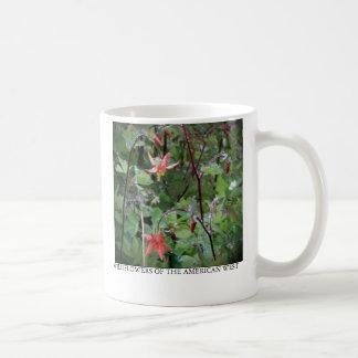 Aquilégia ocidental caneca de café