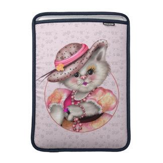 """Ar 13"""" da SENHORA CAT BONITO DESENHOS ANIMADOS Capas Para MacBook Air"""