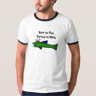 AR camisa engraçada dos peixes T-shirt