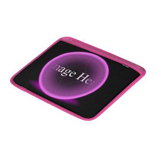 "Ar cor-de-rosa 13"" de Macbook da esfera luva Bolsas De MacBook Air"