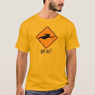Ar obtido? camiseta
