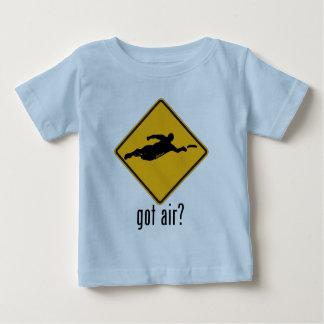 Ar obtido? camiseta para bebê