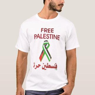 Árabe livre da fita de Palestina Camiseta