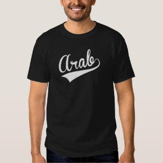 Árabe, retro, camisetas