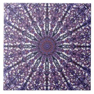 Arabesque colorido romântico do ornamento da