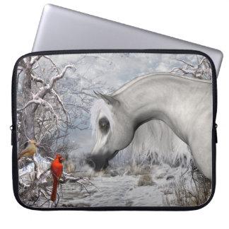 Arabian & bolsa de laptop dos cardeais 15 capas de notebook