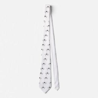 Aranha dos desenhos animados gravata