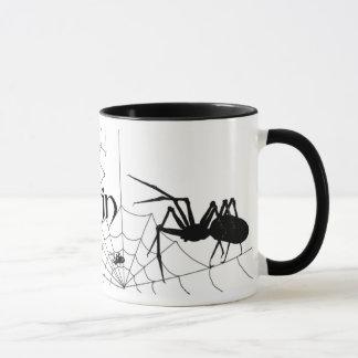 Aranha e caneca Martijn da Web