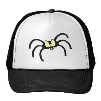 Aranha engraçada do preto dos desenhos animados