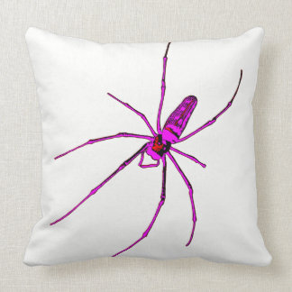 Aranha grande almofada