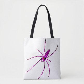 Aranha grande bolsas tote