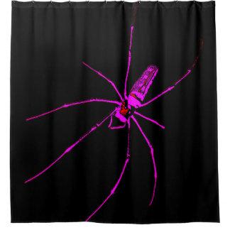 Aranha grande cortinas para chuveiro