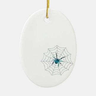Aranha Ornamento De Cerâmica