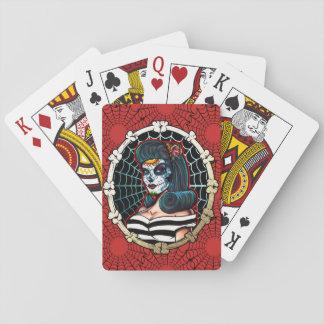 Aranha Queen_playingcards de Betty Jogo De Carta