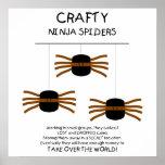 Aranhas de Ninja! Poster