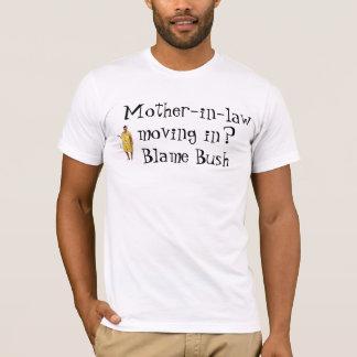 arbusto da culpa camiseta