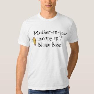 arbusto da culpa t-shirts