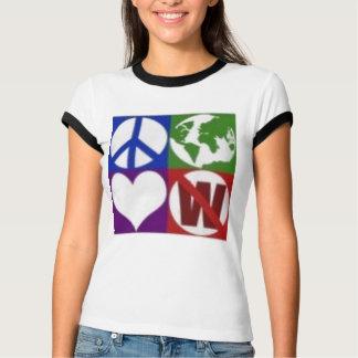 arbusto do amor da paz… não camisetas