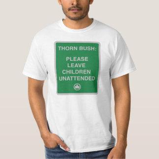 arbusto do espinho t-shirts