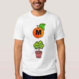 Arbusto do pêssego de M T-shirts