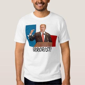arbusto, Errorist! Tshirt