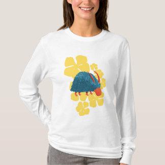Arbusto-monstro misterioso camiseta