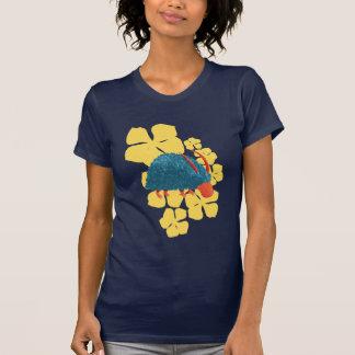 Arbusto-monstro misterioso camisetas