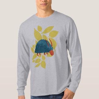 Arbusto-monstro misterioso t-shirts