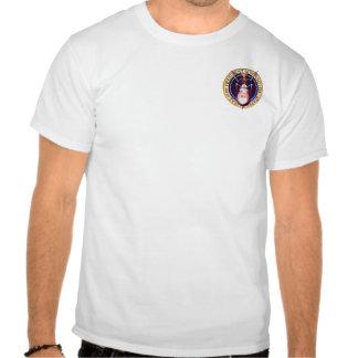 arbusto - último vaqueiro - arte pequena do bolso tshirts