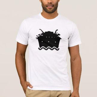 arca do dinossauro camiseta