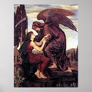 Arcanjo Azrael o anjo da morte Pôster