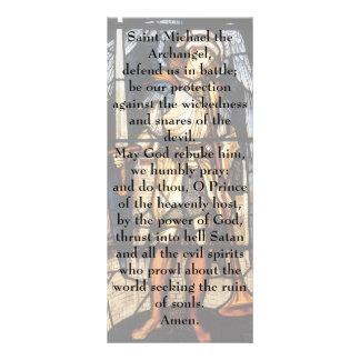 Arcanjo do vintage, St Michael por Burne Jones Planfeto Informativo Colorido