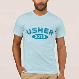 Arco azul 2010 de Usher Camiseta