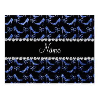 Arco azul conhecido feito sob encomenda dos saltos cartão postal