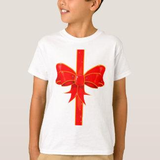 Arco bonito da fita camiseta