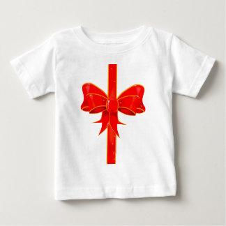 Arco bonito da fita camiseta para bebê