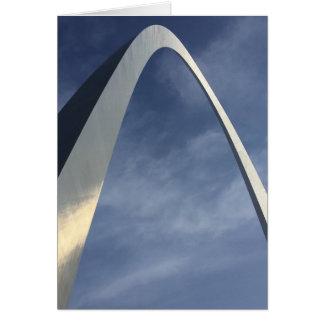 Arco da entrada cartão comemorativo