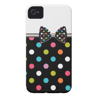 arco das bolinhas das capas de iphone capa para iPhone 4 Case-Mate